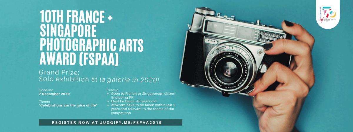 10th France Singapore Photographic Arts Award (FSPAA)