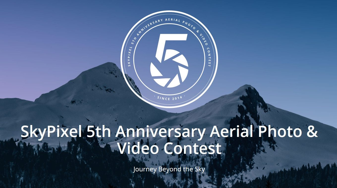 SkyPixel 5th Anniversary Aerial Contest