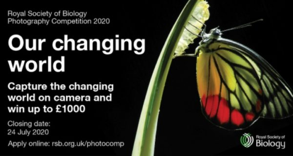 Royal Society of Biology Photo Competition 2020