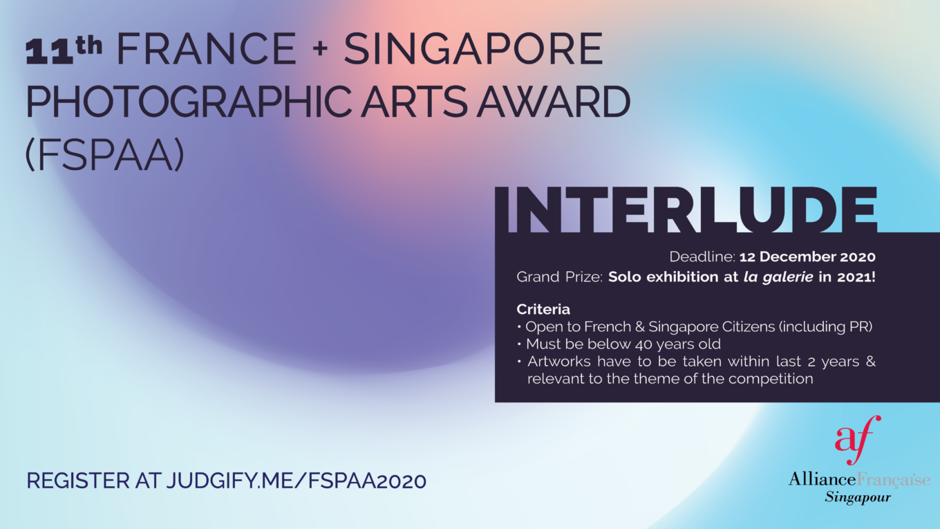 11th France + Singapore Photographic Arts Award