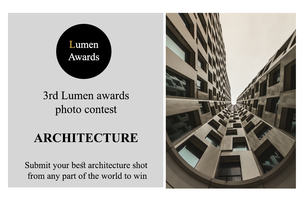 Lumen Awards Architecture Photo Contest