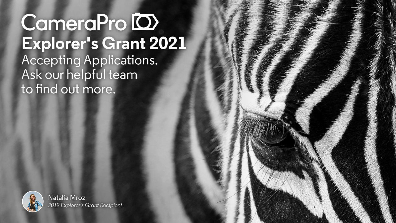 CameraPro Photography and Videography Grant